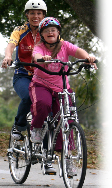 Buddy Bike Alternative Tandem Bicycle For Special Needs