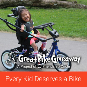 DONATE to help 600 special needs kids receive adaptive bicycles!