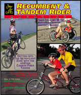 Recumbent & Tandem Rider Magazine - Buddy Bike Feature Article