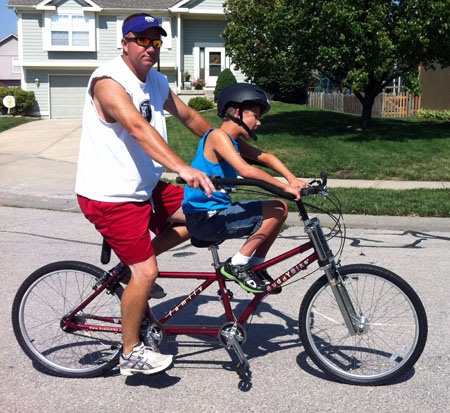 Buddy Bike Special Needs Bicycle Alternative Tandem